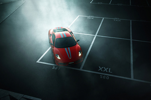 Ferrari 4k Spider Wallpaper