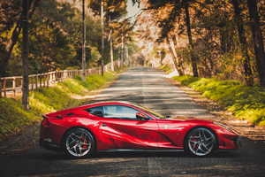 Ferrari 812 Superfast Car Wallpaper