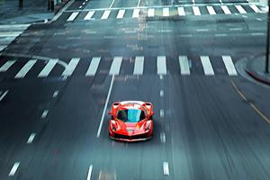 Ferrari Coming Up 4k Wallpaper
