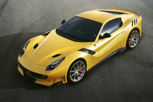 Ferrari F12tdf Upper View Wallpaper