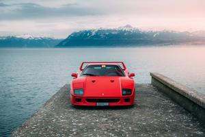 Ferrari F40 5k Wallpaper