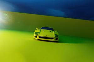 Ferrari F40 Rendered 5k Wallpaper