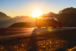Ferrari F40 Silhouette 5k Wallpaper