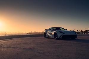 Ferrari Front 4k