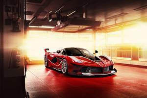Ferrari FXX K Sport Car