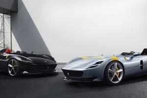 Ferrari Monza SP1 And SP2 8k