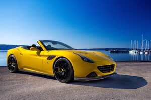 Ferrari Novitec Rosso California Wallpaper