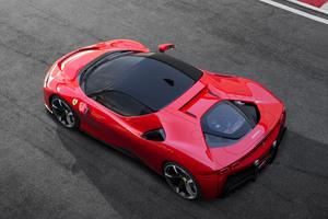 Ferrari SF90 Stradale Assetto Fiorano 2019 Upper View
