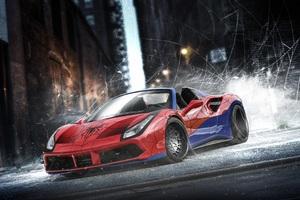 Ferrari Spiderman