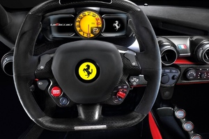 Ferrari Steering Wallpaper