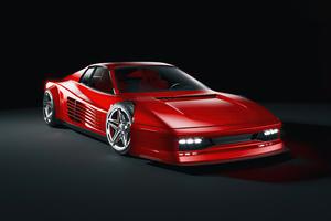 Ferrari Testarossa 1984 5k Wallpaper