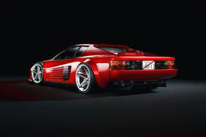 Ferrari Testarossa 1984 Rear 5k Wallpaper