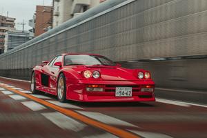 Ferrari Testarossa 5k Wallpaper