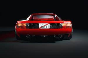 Ferrari Testarossa Red 5k Wallpaper