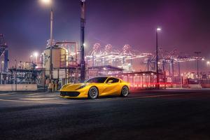Ferrari Yellow Wallpaper
