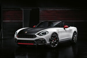 Fiat Spider Abarth Wallpaper