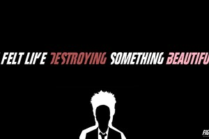 Fight Club Typography Wallpaper