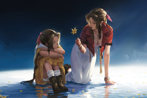 Final Fantasy Aerith Gainsborough 5k Wallpaper