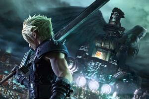 Final Fantasy VII Remake 8k 2020 Wallpaper
