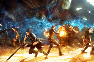 Final Fantasy XV Game Play
