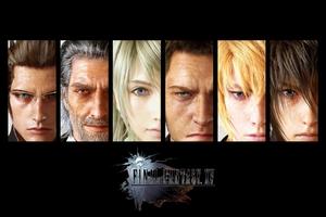 Final Fantasy XV Game Poster Wallpaper