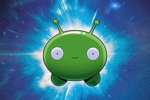 Final Space Mooncake 4k Wallpaper