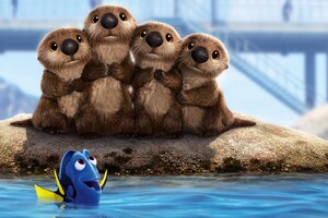Finding Dory Animated Movie 2016