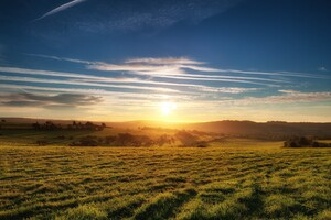 Findon Sunset Wallpaper