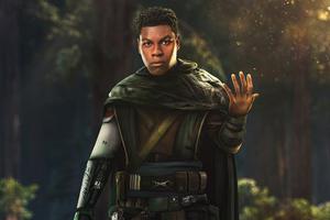 Finn A Jedi Star Wars 5k Wallpaper