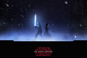 Finn Rey Star Wars Wallpaper