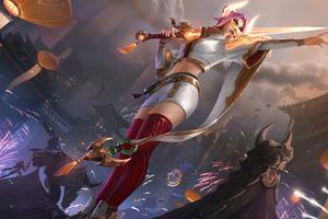 Fiora League Of Legends 8k Wallpaper