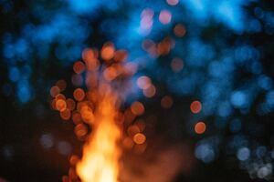 Fire Bokeh 5k