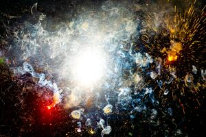 Fire Crack Shots Abstract 4k