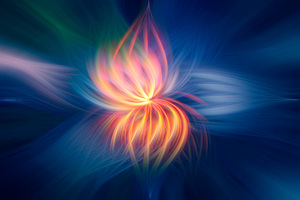 Fireflower Abstract 4k 5k