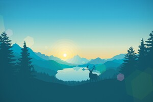 Firewatch Game Graphics Wallpaper