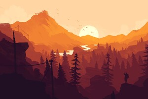 Firewatch Game Wallpaper