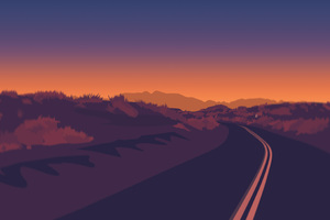 Firewatch Road Wallpaper