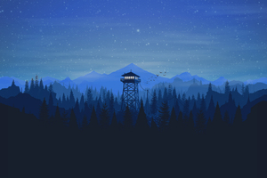 Firewatch Wallpaper