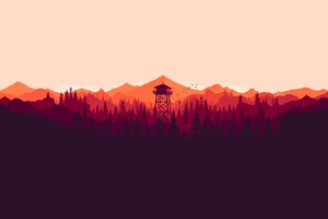 Firewatch Tower Wallpaper