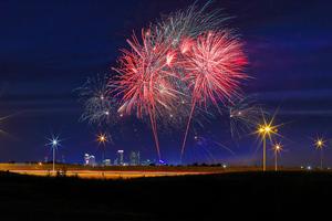 Fireworks Celebrations 4k Wallpaper