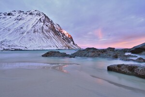 First Sunrise At Lofoten 5k Wallpaper