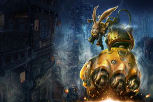 Fist Forged In Shadow Torch 2022 Wallpaper