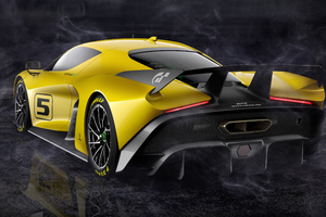 Fittipaldi EF7 Vision Gran Turismo Limited Edition Rear 5k Wallpaper