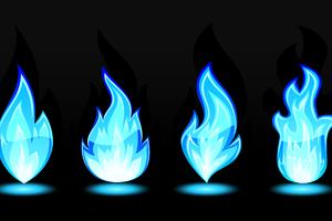 Flames Art