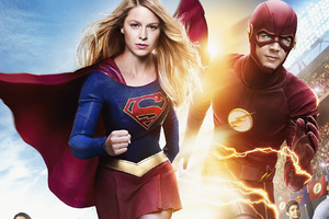 Flash And Supergirl 2018