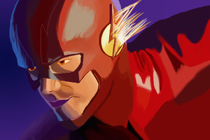 Flash Artwork 4k Wallpaper