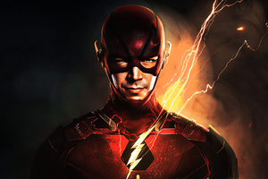 Flash Barry Allen 4k Wallpaper