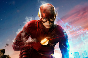 Flash Barry Allen Tv Series 4k Wallpaper
