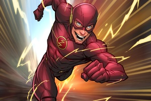 Flash Comic Art