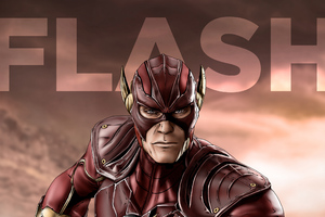 Flash Comic Artwork